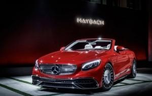 Mobil Pengantin Mercedes-Maybach S650 Cabriolet, Gunakan Kaca Lampu Depan Dari Kristal Swarovski
