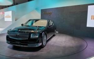 Mobil Pengantin 'Rolls Royce' Ala Jepang Hadir Model Baru di Tokyo