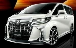 Mobil Pengantin Gaya Toyota Alphard Modellista yang Makin Stylish