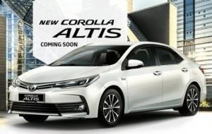Mobil Pengantin Toyota Corolla Altis Baru Mulai Diperkenalkan Di Malaysia