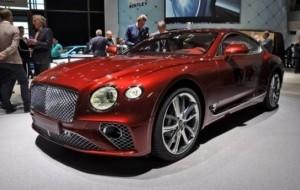 Mobil Pengantin Debut Global Bentley Continental GT. Sudah Bisa Diorder