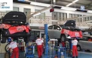 Mobil Pengantin Bengkel Auto2000 Tidak Tutup Selama Periode Lebaran