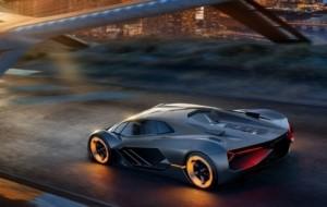 Mobil Pengantin Konsep Mobil Millennium Ketiga dari Lamborghini, Calon Supercar Listrik