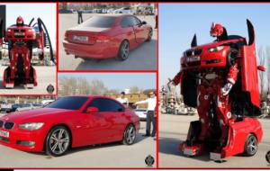 Mobil Pengantin Start up Turki Ciptakan Mobil Transformer Dari Sedan BMW