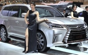 Mobil Pengantin GIIAS 2016: Lexus Mengharap Dampak Tax Amnesty