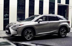 Mobil Pengantin Lexus RX Bakal Jadi SUV 7 Penumpang?