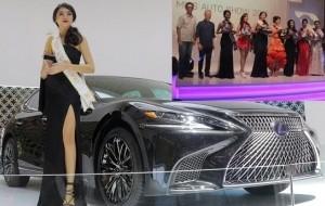 Mobil Pengantin Agnes dari Lexus Raih Mahkota Miss Auto Show 2017