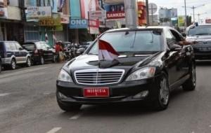 Mobil Pengantin Lagi, Mobil Presiden Jokowi Mogok Saat Kunjungi Pontianak