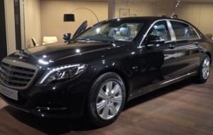 Mobil Pengantin Mercedes Benz Siap Rilis Mobil Kepresidenan Pullman 2018, Harganya Rp8 Miliar Lebih