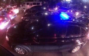 Mobil Pengantin Razia Lampu Strobo, Lampu Berharga Ratusan Ribu Rupiah