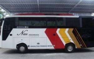 Mobil Pengantin Armada Shuttle Bandara Kualanamu Pakai Bus Tata