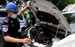 Mobil Pengantin Sebanyak 250 Taksi Online Tidak Lulus Uji KIR