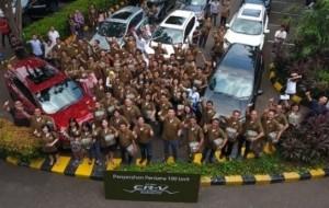 Mobil Pengantin Honda Serahkan 100 Unit CR-V Turbo Ke Konsumen