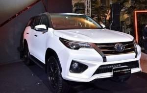 Mobil Pengantin Toyota Fortuner TRD Sportivo Punya Tampang Lebih Sporti