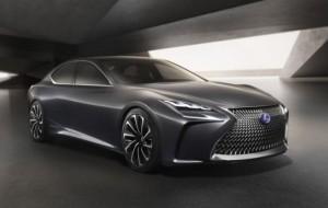 Mobil Pengantin Lexus LS 2017 Terbaru Siap Debut Di Detroit Motor Show 2017
