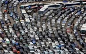 Mobil Pengantin Mengapa Pemudik Kendaraan Pribadi Rela Macet Puluhan Jam