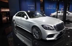 Mobil Pengantin Mercedes-Benz S560e, Mewah Bermain Plug-in Hybrid