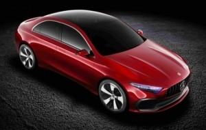 """Mobil Pengantin Ini Dia """"Ketampanan"""" Concept A Sedan Buatan Mercy"""