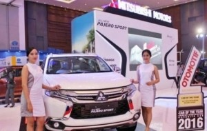 Mobil Pengantin Mitsubishi Pajero Sport Limited Edition Menjadi Daya Tarik Pengunjung di GIIAS 2016