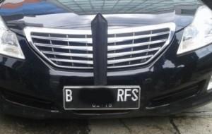 Mobil Pengantin Nomor Polisi Kendaraan Yang Tidak Bisa Dipesan