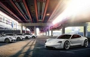 Porsche Mission E Diberi Nama Dagang Taycan