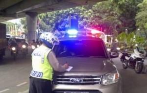 Mobil Pengantin Asal Pasang Rotator, Mobil Anda Akan Ditahan
