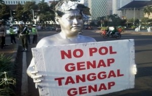 Mobil Pengantin Ganjil Genap Berlaku Hari Ini, Mampukah Kurangi Macet Jakarta