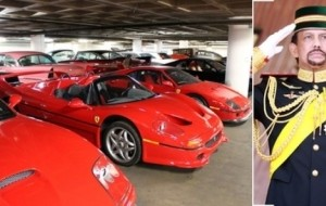 Mobil Pengantin Raja Salman Kalah Dari Sultan Brunei Soal Koleksi Mobil