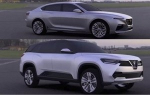 Mobil Pengantin Perkenalkan VinFast, Brand Baru Asal Vietnam Berdesain Pininfarina