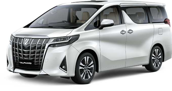 Sewa mobil online - Toyota New Alphard & Vellfire Facelift