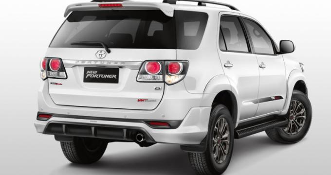 Sewa mobil online - Toyota Fortuner VNT & TRD