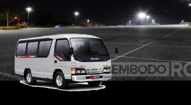 Paket Wisata Dengan Mini Bus Isuzu Elf Jakarta