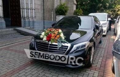 Mobil Pengantin - Mercy-wedding