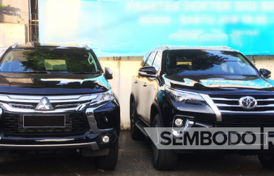 Mobil Pengantin - Fortuner VRZ & Pajero Dakar