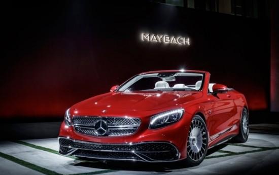 Sewa Mercedes-Maybach S650 Cabriolet, Gunakan Kaca Lampu Depan Dari Kristal Swarovski