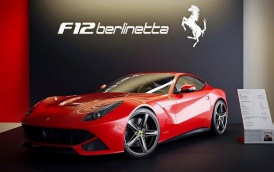 Sewa Versi Terbaru Ferrari F12 Berlinetta Terlihat Sedang Diuji Di Jalanan