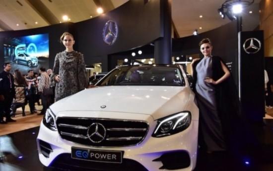 Sewa Mercedes-Benz Berencana Rakit Mobil Listrik E350e di Indonesia