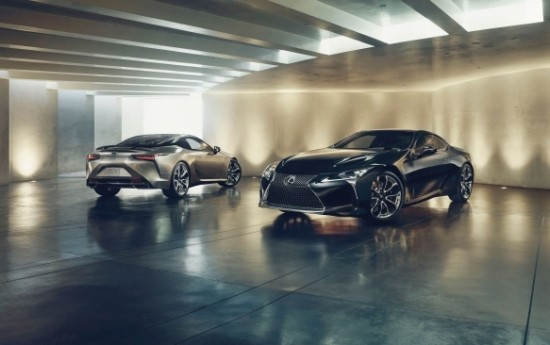 Sewa Lexus LC F Bersiap, Bakal Bermesin V8 Twin Turbo 621 Horsepower