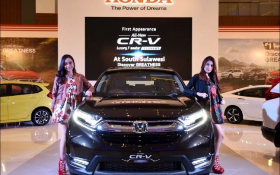 Sewa Desain Tajam dan Dinamis, Ini Sederet Fitur Canggih All-new Honda CR-V Hybrid