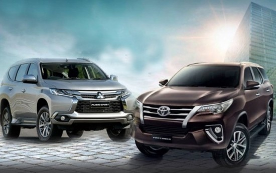 Sewa Toyota All-new Fortuner Ungguli Mitsubishi All-new Pajero Sport