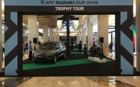 Sewa Suzuki Dukung Piala AFF 2018 Pecut Penjualan Ertiga