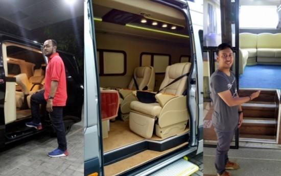 Sewa Coach Builder Indonesia, Membuat Kabin Mewah Toyota Alphard