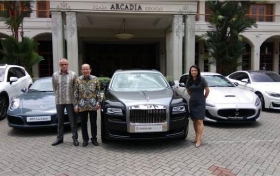 Sewa Mau jajal mobil mewah di mall Jakarta?