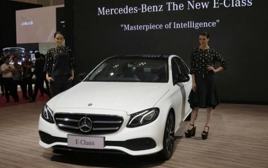 Sewa Mercedes-Benz Bawa 7 Mobil Baru Ke GIIAS 2016