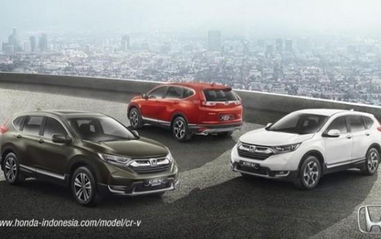 Sewa Pilih Honda CRV 2017 5-Seater Atau 7-Seater?