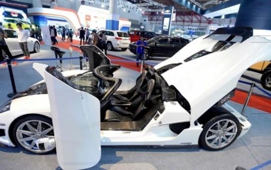 Sewa IIMS 2017 Hadirkan Salah Satu Mobil Termahal Dunia, Koenigsegg CCX
