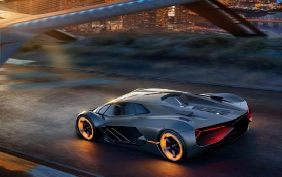 Sewa Konsep Mobil Millennium Ketiga dari Lamborghini, Calon Supercar Listrik