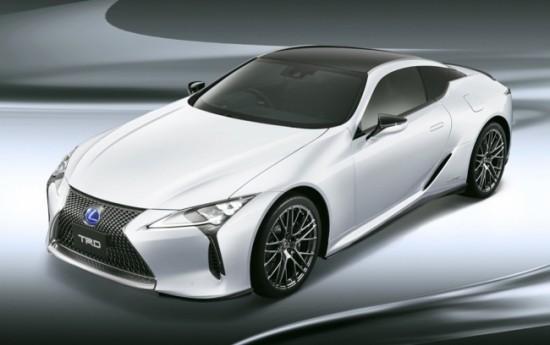 Sewa Perkuat Tampilan Sporti, Lexus Bubuhi LC Dengan Paket TRD