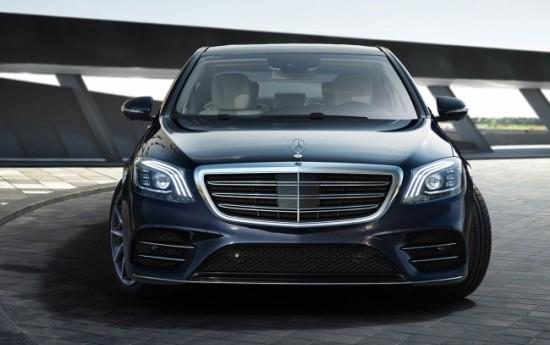 Sewa Mercedes-Benz GLC dan S-Class Dapat Fitur Safety Baru, V-Class Punya Mesin Bensin