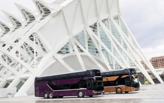 Sewa IAA Commercial Vehicles 2018 : Inilah Fitur Keselamatan Terbaru Bus Mercedes-Benz Setra